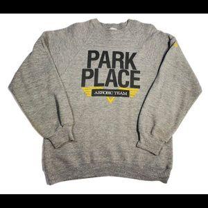 Vintage park place aerobics team crewneck size med